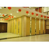 Steel Movable Partition Office Hanging Sliding Door  For International Convention Centers Manufactures