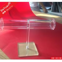 Custom Acrylic Jewellery Display Stands Red Yellow ISO9001CE Approved Manufactures