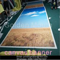 Waterproof Chemical Fabric Canvas Banner Printing Service Manufactures