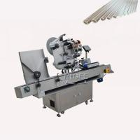 China SUS304 Economy Automatic Small Round Bottle competitive price Labeling Machine for adhesive wholesale
