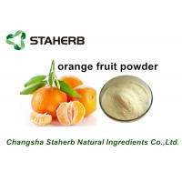 Quality Freeze Dried Fruit Powder / Orange Fruit Powder Fit Beverage And Food for sale