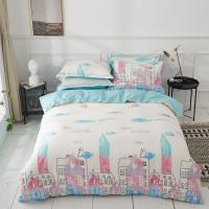 Luminous comforter pastel bed sheet duvet cover set  Amazing children magical noctilucence bedding set Manufactures