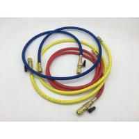 China R410/ R32 Refrigerant Charging Hose With Ball Valve Fitting For Manifold Gauge on sale