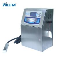 Buy cheap Classic economic CIJ for expiry date bottle printing industrial inkjet printer from wholesalers