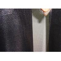 Low Carbon Black Coated Hardware Cloth Low Elongation High Tension Manufactures
