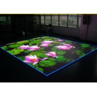 Quality Customized LED Floor Screen Creative LED Dance Floor Video Wall Display for sale