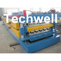 High Grade 45# Axis Double Layer Roll Former / Roll Forming Machine For Roofing Sheets Manufactures