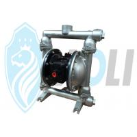 China SS Compressed Air Powered Double Diaphragm Pumps For Chemical / Food Industry on sale