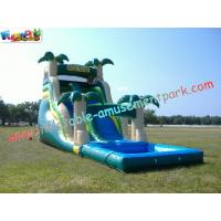 Commercial Giant Outdoor Inflatable Water Slides Game for Adult, Kids Playing for fun Manufactures