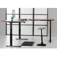 Convertible Automatic Electric Sit Stand Desk For Office / Home Manufactures