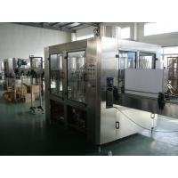 China 2400BHP 3-in-1 Pet / Glass Bottle Filling Machine For 350ml  Cola , Soda water on sale