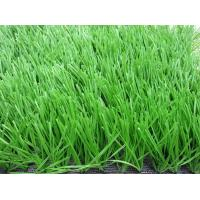 Anti - Fire Soccer Artificial Grass Oliver Green For Sport Ground Manufactures