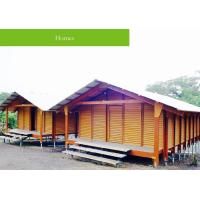 Ecological Healthy Building Decoration Materials , WPC House For Tropical People Manufactures