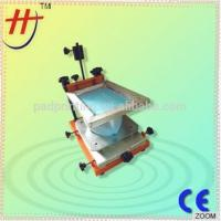 CE-Approved Hengjin Factory Price Cheap Single Color Manual Screen Printer for Balloon LT-80