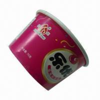 Disposable Paper Cup, Food Grade Paper/Flexo Print/10oz/Suitable for Ice Cream or Yogurt  Manufactures