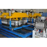 High Efficiency Plastic Pipe Extrusion Line / Howlowness Spiral Pipe Machine Manufactures