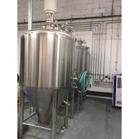 China Turn Key Craft Beer Equipment For Small Business SUS304 / SUS316 / Red Copper Material on sale