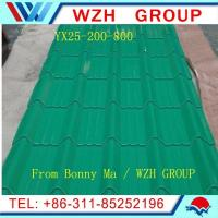 China Beautiful  metal roofing sheet / pre painted galvanized steel sheet made in China on sale