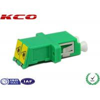 China Dual Chanel Duplex Fiber Optic Connector Adapters LC/APC LC/UPC LC/PC Type on sale