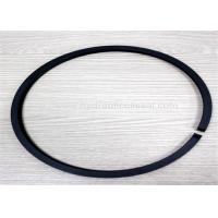 Black Hydraulic Piston Seals , 90-160 Out Diameter Pneumatic Piston Seals Manufactures
