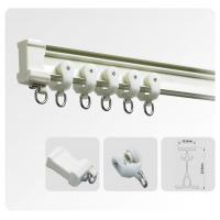 China Sliding Swish Curtains Rails Accessories For Vertical Window Blinds on sale