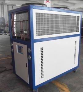 China Electroplating Industry Air Cooled Screw Chiller 3N-380V / 415V-50HZ on sale