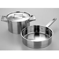 China casserole and frypan cookware set stainless steel cookware set 3 pcs cookware set on sale