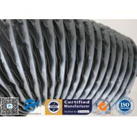 PVC Coated Fiberglass Fabric Grey Flexible Ventilation Air Ducting Vent Hose Manufactures