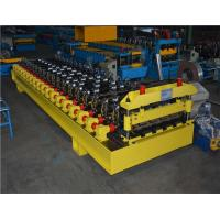 609mm Coil Width Corrugated Roll Forming Machine With Hydraulic Cutting Barrel Manufactures