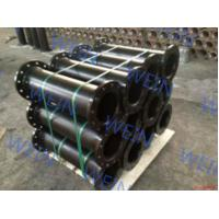 China Special Coating Double Flanged Ductile Iron Pipe Weld Type DN80 - 2000mm on sale