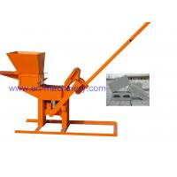 Product To Import To South Africa 1-40 Manual Clay Interlocking Brick Making Machine Manufactures