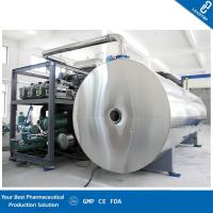 China Medium Capacity Vacuum Freeze Dryer Food Grade Stainless Steel Chamber on sale