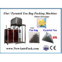 China Pyramid tea bag packing machine with outer bag for Wolfberry tea on sale
