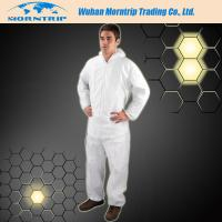 Reinforced Disposable Waterproof  PP SMS Microporous Nonwoven Safety Coverall