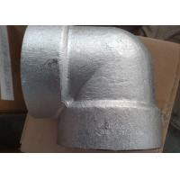 4 Inch class 3000 NPT Threaded Forged Stainless Steel Pipe Fittings Elbows Manufactures