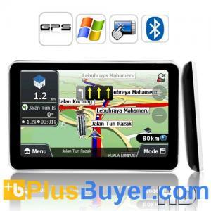 "5"" HD Touch Screen GPS Navigator (800 x 480, 600MHz CPU, 1600 mAh) Manufactures"