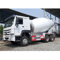 China HOWO 6x4 Concrete Agitator Truck , 8 Cubic Meters 8M3 Cement Mixer Truck on sale