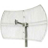 2.6G Wimax Parabolic Grid Antenna With 24DBI High Gain Manufactures
