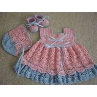 Soft Shell 100% cotton poplin knitted baby dress, cute baby outfits for summer Manufactures