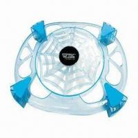 Laptop Cooler with One Big Fan, Lightweight, Comparable Quality, Measures 300 x 230 x 48mm Manufactures