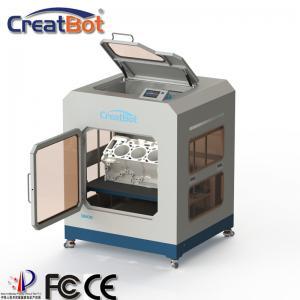 Quality Fully Enclosed Metal Frame FDM 3D Printer D600 Pro Creatbot High Presion 3D for sale
