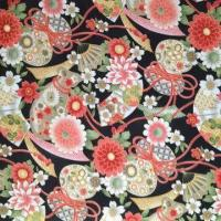 Chinese Pattern Printed Polyester Fabric for Upholstery Manufactures