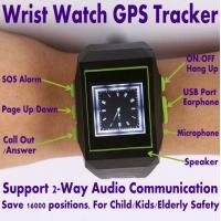 China GPS301 Child Kids Safety Watch Mobile Phone LBS GPS Tracker W/ SOS & 2-Way Communication on sale