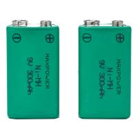 300mAh 9V Prismatic NiMh Battery Packs for Multimeter CE UL Rohs Manufactures