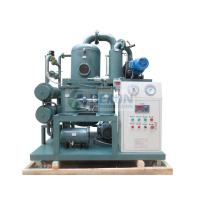 50HZ Transformer Oil Dehydration Plant , ZYD-50 Transformer Oil Purification System Manufactures