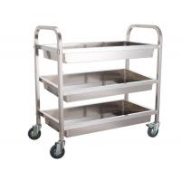 Multi Layer Bakery Rack Trolley Food Cart Four Wheels For Kitchen Practical Use Push Smoothly Manufactures