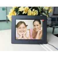China 4:3 ratio multimedia function 8 inch LCD digital photo frame for family or commercial purpose on sale