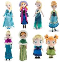 Frozen Ana And Elsa Disney Plush Toys Soft Cartoon Stuffed Doll 20 inch Manufactures