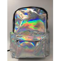 Customized Logo Laptop Messenger Bags Laser PU Hologram Backpack PU Material Manufactures