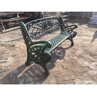 Quality Outdoor Furniture Moose Metal Park Benches , Cast Iron Garden Chairs For Park for sale